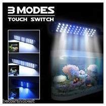 Luminária Aquário 48 Led 3modos Haste Flexível Tecla Touch