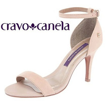 Sandália Salto Fino Cravo & Canela 143702-1