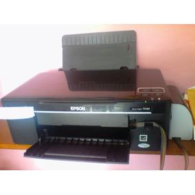 Impresora Multifuncional Epson Tx130 Con Sistema De Tinta