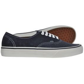 Tênis Vans Authentic Washed Dark Blue - Cut Wave