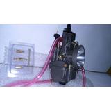 Carburador Plana 32 Mm Competicion Para Picadas C/ Power Jet