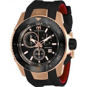Reloj Technomarine Tm-616005 Silicon Negro Hombre
