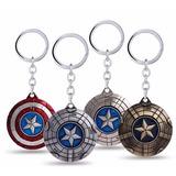 Llavero Escudo Capitán América Winter Soldier Avengers