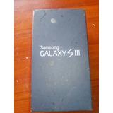 Caja Samsung S3 Gt I9300