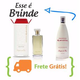 Inizzio Amore Perfume Lacqua Di Fiori - Grátis Desodorante