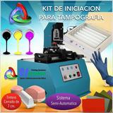 Kit Profesional Impresión Tampografía Sistema Semiautomático
