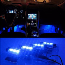 Luz Led Neon Azul Para Ambiente Interno Carro Automotivo