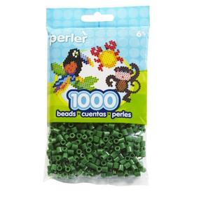 Juguete Bolsa De Fichas Perler Verde