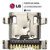 Pin De Carga Conector De Carga Lg G3 D850 D851 D855 Vs985