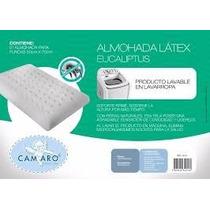Pack X2 Almohada Látex Sintetico Eucaliptus Camaro