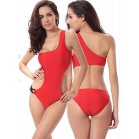 Traje De Baño Trikini M Y L, Rojo Las Condes