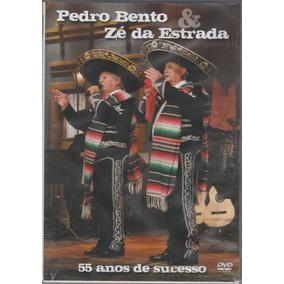 Pedro Bento E Zé Da Estrada - Dvd 55 Anos De Sucesso - Novo!