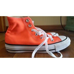 Zapatillas Converse Chuck Taylor All Star Naranja Mujer
