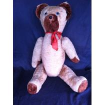 Urso Ted Grande Anos 70/80 90cm Pelucia Brinquedo