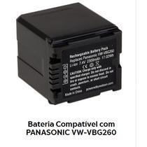 Bateria Para Câmera E Filmadora Panasonic Vw-vbg260