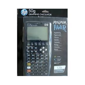 Calculadora Cientifica Gráfica Hp 50g Original + Capa Hp50g