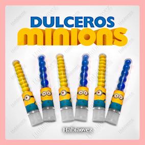 Dulcero Minions Para Fiesta De Cumpleaños