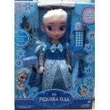 Liquidaclon Muñeca Elsa De Frozen Interactiva
