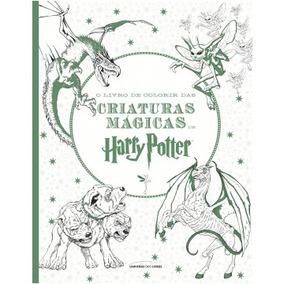 O Livro De Colorir Das Criaturas Mágicas De Harry Potter