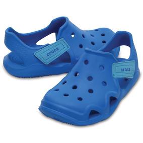 Sandália Crocs Swiftwater Wave Infantil