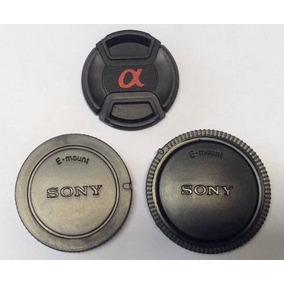 Kit 3 Tampa 40.5mm Sony Nex Lente Selp1650 16-50mm Cod.0340