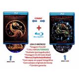 Blu Ray Mortal Kombat 1 E Mortal Kombat 2 Aniquilação