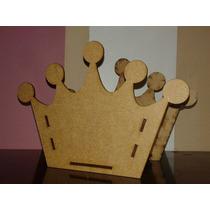 13 Cachepô Coroa De 14cm Mdf Lembrancinha Festa