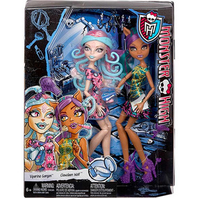 Monster High Dupla Sustos Maquiagem