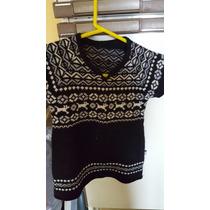 Vestido -sweater Tejido Desde 2 A 4 Años