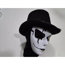 Mascara Arlequina Com Cartola Palhaço Haloween Terror Horror