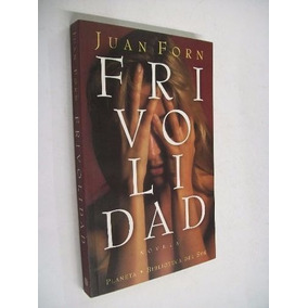 Livro Frivolidad Juan Forn