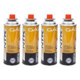 Kit Refil Gás Para Maçarico E Fogão Ntk - 4 Unidades