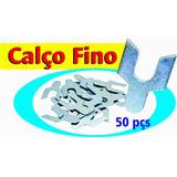 Calço Cambagem Fino (0,75mm) Opala / Uno Tipo Y 50 Pçs