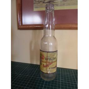 Botella Antigua De Refresco Penafiel Durazno Tehuacan