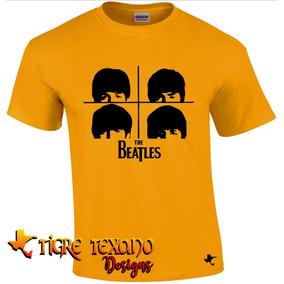Playera Bandas The Beatles Mod. 04 By Tigre Texano Designs