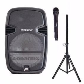 Bafle Bocina 15 Recargable Amplificado Bluetooth Usb Tripie