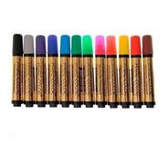 Caneta Magic Color Marcador Permanente C/12 Cores 641-0