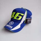Boné Valentino Rossi Azul Moto Gp Vr 46 Yamaha Importado !