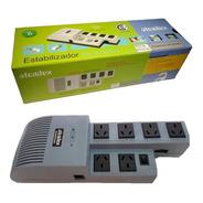 Estabilizador De Tension Atomlux R500 Pc Tv Computadora Ps4