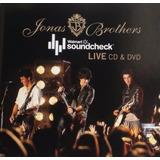 Jonas Brothers Walmart Soundcheck Live Cd + Dvd