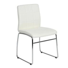 Silla Blanca Con Patas De Metal-hmx0045-white