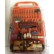Kit Micro Retifica 175 Acessórios Black Decker Bda3037