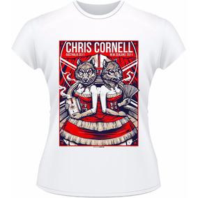 Baby Look Audioslave Tributo Chris Rock Camiseta Camisa #1