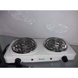 Cocina Electrica 2 Hornillas 2000w