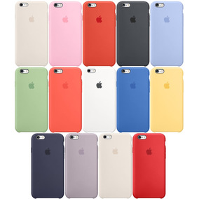 Silicone Case Silicona Original Iphone 5 Se 6 6s 7 8 Plus