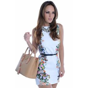 Vestido Feminino Floral - Kam Bess - Ve0753