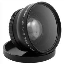 Lente 2 En 1 Gran Angular Y Macro 52mm Para Nikon .45x