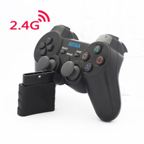 Joystick Inalambrico Para Ps2 Recargable Sj-817 En Blister