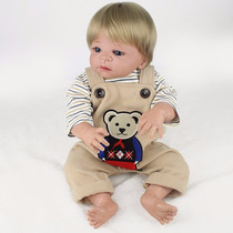 Boneca Menino Bebê Reborn Dudú Corpo Inteiro Silicone