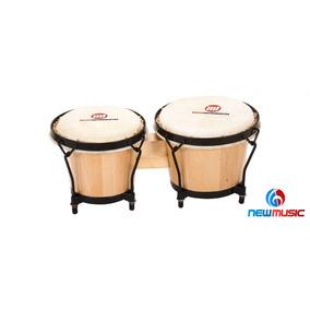Bongo Phx Musicinstrumentos Natural 6 E 8 Polegadas Bg-1
